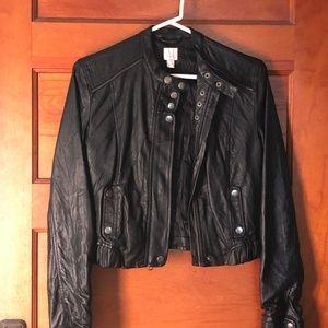 LC Lauren Conrad Bomber Moto Jacket